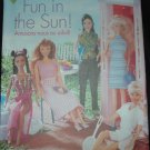 "Butterick 6110 11 1/2""  Doll Fun In the Sun outfits"