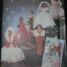 "Butterick 5061 11 1/2"" Doll Costume Patterns"