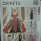 "McCalls 2505 11 1/2""  Doll Dress Pattern"