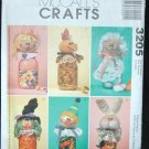 McCalls 3205  Craft  Jar Toppers