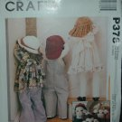 MCCALLS P378 CRAFT PATTERN-DOLLS