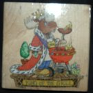"MOOSE CREEK CROSSING ""KING OF THE GRILL"" RUBBER STAMP"