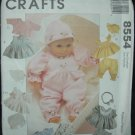 MCCALLS 8554 CRAFT PATTERN-DOLL CLOTHES