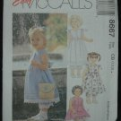 MCCALLS 8667 Toddlers' Dress and Pantaloons 1, 2 ,3