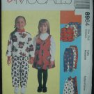 McCalls 8964 Children's Unlined Jacket, Jumper and Pull-on