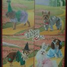 SIMPLICITY 2548 DOG  COSTUMES-THE WIZARD OF OZ