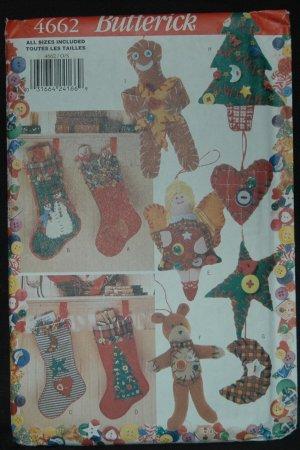 Butterick 4662 CHRISTMAS DECORATIONS