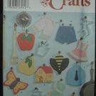 Simplicity 9220 Craft Decorative Potholders or Trivets