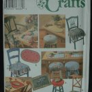 SIMPLICITY 9452  CRAFT CHAIR PADS & PLACE MATS
