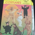 MCCALLS 8953 COSTUME PATTERN - ADULT SM- BUNNY, BEAR, CAT, LION & KANGAROO