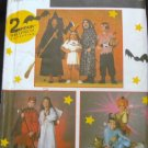 SIMPLICITY 9168 CHILDS' COSTUME - WITCH, INDIAN, PIRATE, DEVIL, ANGEL, GENIE & ALADIN