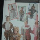 SIMPLICITY 9116 TODDLERS' COSTUME - WITCH, TIGER, CLOWN, COW, LION