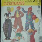 SIMPLICITY 3306 MISSES COSTUME- CLOWN, JESTER