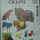 MCCALLS M4686 CRAFT PATTERN- PET GIFT ITEMS