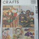 MCCALLS 2158 CRAFT PATTERN- SEASONAL DECORATIONS