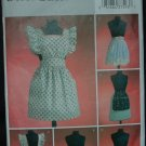 BUTTERICK  B4087 CRAFT PATTERN - 1950'S VINTAGE APRONS