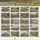 """U.S. POSTAGE STAMPS """"BASEBALL'S LEGENDARY PLAYING FIELDS"""""""
