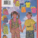 BUTTERICK 5381 CHILDREN'S VEST, TOP, SHORTS & PANTS