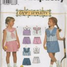 SIMPLICITY 7094 CHILD'S SET OF TOPS & SHORTS