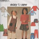 SIMPLICITY 7742  Child's Jumper, Skirt, Pants and Knit Top