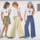 Butterick 5964 Girls'  Skirt, Pants & Top,