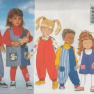 BUTTERICK 4691 TODDLER'S/CHILDREN'S JUMPER & JUMPSUIT