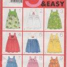 Butterick 4960 Children's/Girls' Dress or Jumper