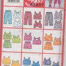 BUTTERICK 5563 CHILDREN'S TOP, SHORTS & PANTS