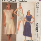 MCCALLS 9097 MISSES' DRESS  SIZE 8