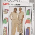 MCCALLS 9239 MISSES' UNLINED JACKET, DRESS, TUNIC, PULL ON PANTS & SHORTS