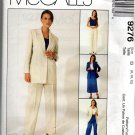 MCCALLS 9276 MISSES' UNLINED JACKET, TOP, PANTS & SKIRT