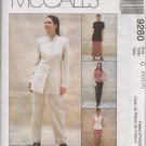 MCCALLS 9280 MISSES' UNLINED JACKET, TOP, PANTS & SKIRT