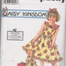 "SIMPLICITY 7607 Child's & Girls's Dress & Doll Dress for 17"" Doll"