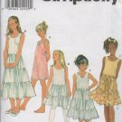 SIMPLICITY 8681 Child's & Girls'  Slip and Camisole