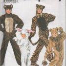 MCCALLS 9983 BOYS/GIRLS COSTUME PATTERN - ANIMAL