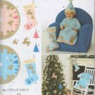SIMPLICITY 2489 BABY BUNTING, HAT & DECORATIONS