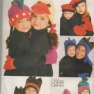 VOGUE 9600 Adults' and Childs'  Whimsical Hats & Gloves