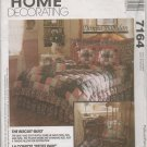 MCCALLS 7164 PATTERN- BISCUIT QUILT AND ACCESSORIES