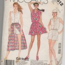MCCALLS 2512 MISSES' JUMPSUIT AND SKIRTS- SZ 16,18,20