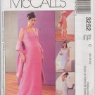 MCCALLS 3252  MATERNITY DRESS, TOPS AND PULL-ON PANTS IN 2 LENGTHS & SKIRT, CAPRI'S & STOLE
