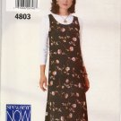 BUTTERICK 4803 MISSES' JUMPER