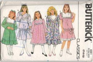 BUTTERICK 4061 GIRLS' DRESS