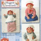 SIMPLICITY 2487 COSTUME PATTERN - BABIES RAGGEDY ANN & ANDY