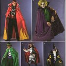 SIMPLICITY 2499 MENS' COSTUME - DEVIL, JOKER, PIRATE, WIZARD SZ 42/44 - 44/48
