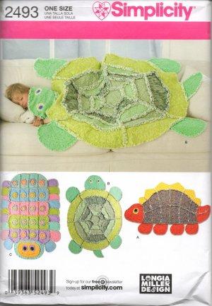 Animal pattern quilt rag free knitting patterns for Simplicity craft pattern 4993