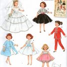 "Simplicity 3522 10 1/2""  Doll Dress Patterns"