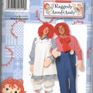 SIMPLICITY 2514 ADULTS' COSTUME - RAGGEDY ANN & ANDY SZ 30/32 - 46/48