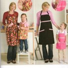 SIMPLICITY 2555 MISSES' & CHILDS' APRONS
