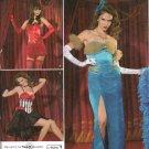 SIMPLICITY 2535 MISSES Burlesque COSTUMEs- SZ 8-16