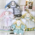 "SIMPLICITY 2595 - 17"" BUNNY AND CLOTHES"